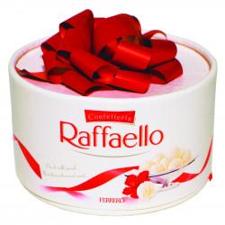 Букет «Конфеты «Raffaello с бантом»»